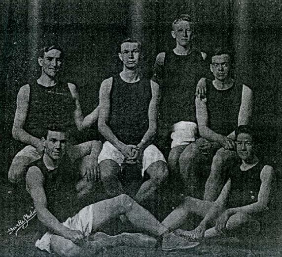 Victoria High School Basketball Team (1914) Edmonton, AB